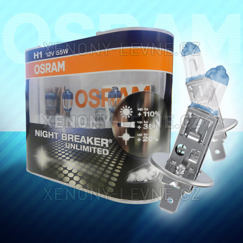 OSRAM H1 NightBreaker Unlimited 55W