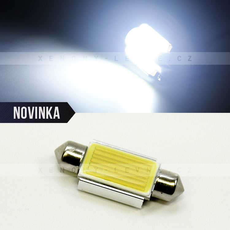 Bílá sufitka CAN BUS, HIGH POWER SMD LED, 39mm